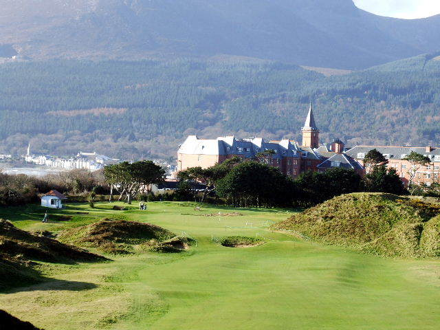 Golf In Northern Ireland Portrush Royal County Down