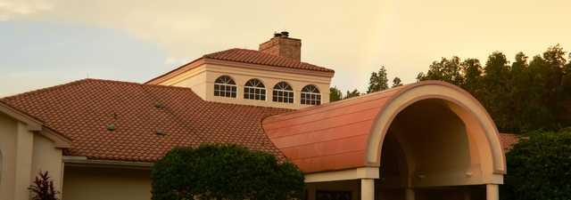 Crescent Oaks CC: clubhouse