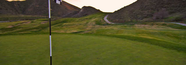 Lost Canyons Golf Club - Shadow Course - 18th hole