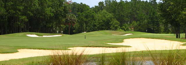Cypress Course at the Grand Club: bunkers
