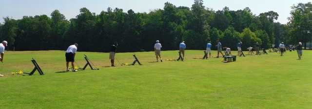 Williamsburg National GC: driving range