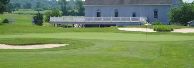 Glade Valley GC: #9