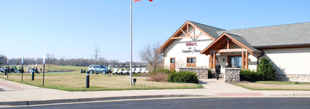 Coyote Run GC: Clubhouse