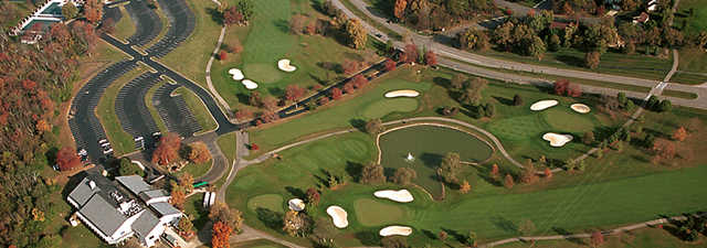 Beckett Ridge CC: clubhouse