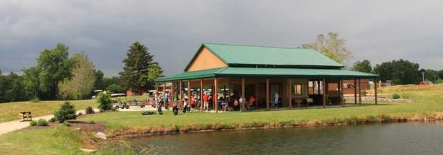 Majestic Springs GC: clubhouse