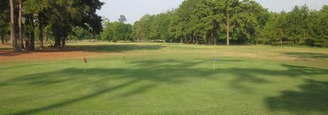 Livingston GC: practice green
