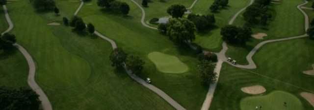 Lake Lawn GC: aerial view