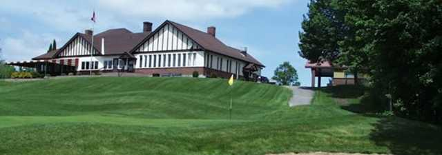 Renfrew GC: #18 &amp; clubhouse