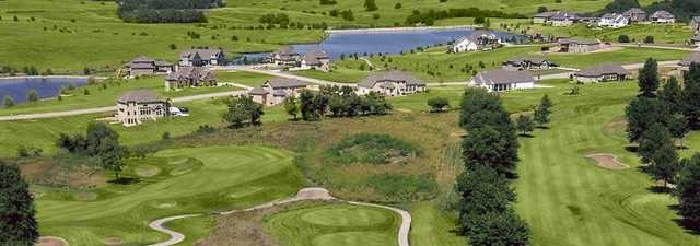 Liberty Hills GC: aerial view