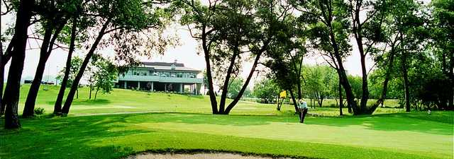 Harmony Creek GC: clubhouse