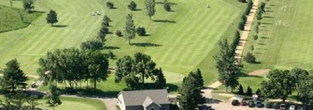 Krooked Kreek GC: Aerial view