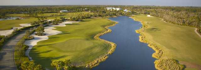 Raptor Bay GC: Aerial view