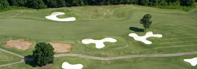 Cherokee Valley GC: Aerial view