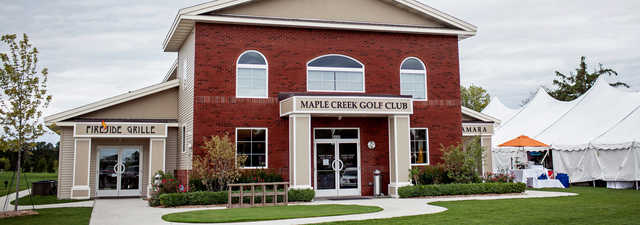 Maple Creek GC: Clubhouse