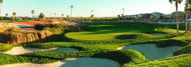 Silverstone Golf Club: Desert's nine 7th hole