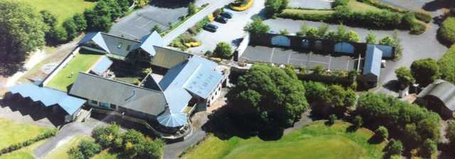 Highfield GC: Aerial view