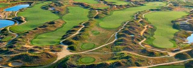 Twisted Dune GC: Aerial view