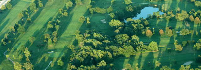 Marysville GC: Aerial view