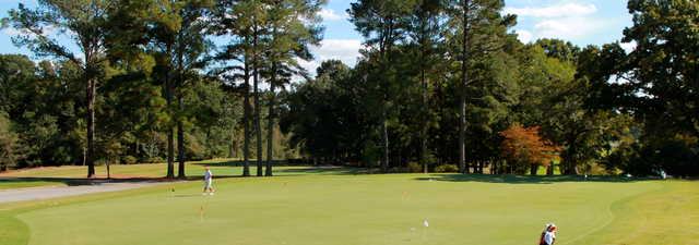 Keith Hills GC: Practice area