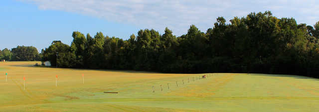 Keith Hills GC: Driving range