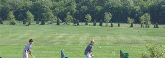 Creekside GC: Driving range