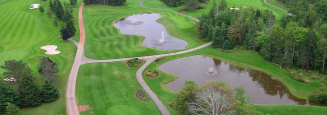 Brudenell River GC: Aerial view