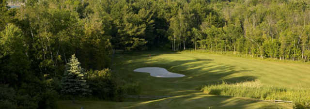 Devil's Ridge GC: Aerial view