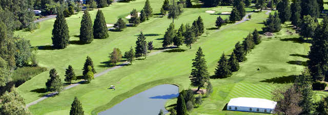Pine Cone Nine: Aerial view of #6, #7 &amp; #8