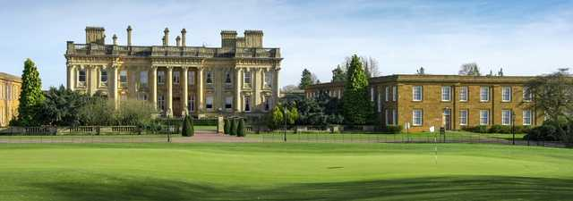 The mansion house at Heythrop Park