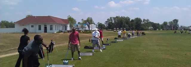 The Golf Depot: Driving range