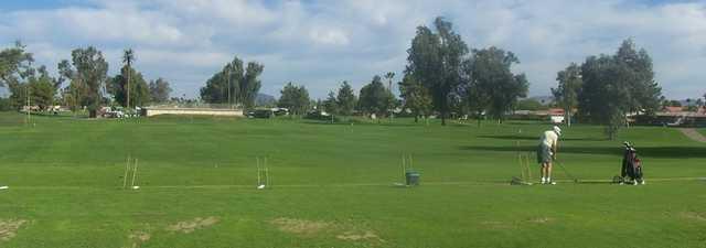 Sunland Village GC: practice area