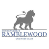 White/Blue at Ramblewood Country Club Logo