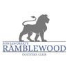 White/Blue at Ramblewood Country Club Logo