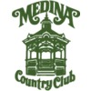 Blue/Red at Medina Country Club Logo