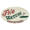 Regulation at Five Waters Golf Course Logo