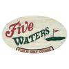 Par 3 at Five Waters Golf Course Logo