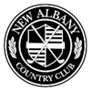 West/North at New Albany Country Club Logo