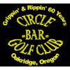 Circle Bar Golf Club Logo