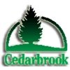 Red at Cedarbrook Golf Course Logo