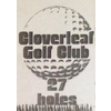 First Nine/Second Nine at Cloverleaf Golf Club Logo