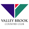 Gold/Blue at Valley Brook Country Club Logo