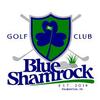 Blue Shamrock Golf Club Logo