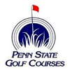 Blue at Penn State Golf Courses Logo