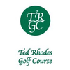 Ted Rhodes Golf Course Logo