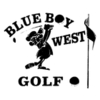 Blue Boy West Golf Course Logo
