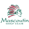 White/Blue at Mascoutin Golf Club Logo
