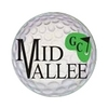 Blue/White at Mid Vallee Public Golf Course Logo