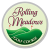 White/Blue at Rolling Meadows Golf Course Logo