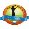 Cedar Springs Golf Course Logo