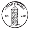 White/Red at North Shore Country Club Logo